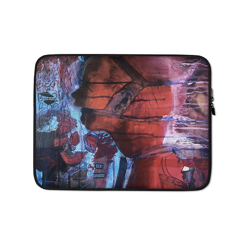 """Laptop sleeve """"Boom"""" by MikeOncley"""