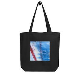 """Tote bag """"Blue Ribbon"""" by """"MikeOncley"""""""