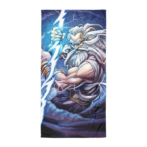 "Beach Towel ""Zeus"" by ""el-grimlock"""