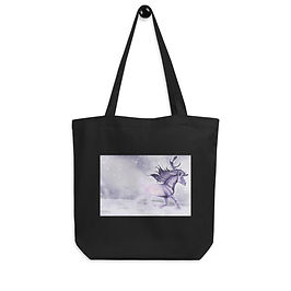 """Tote bag """"Arctic Ghost"""" by Astralseed"""