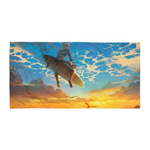"Beach Towel ""beautiful-world"" by ""RHADS"""