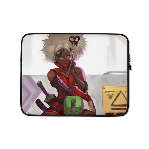 "Laptop sleeve ""Bonnie Chair"" by Elsevilla"