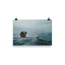 """Poster """"Death Stranding"""" by Dark-indigo"""