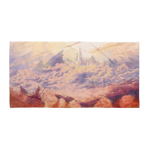 "Beach Towel ""Last Dungeon"" by Ashnoalice"
