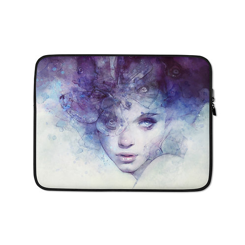 """Laptop sleeve """"Aeriel"""" by Escume"""