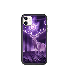 """iPhone case """"Stag"""" by Astralseed"""