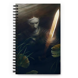 """Notebook """"Lady of the Lake"""" by JeffLeeJohnson"""