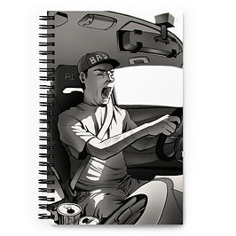 """Notebook """"Long Drive"""" by Ccayco"""