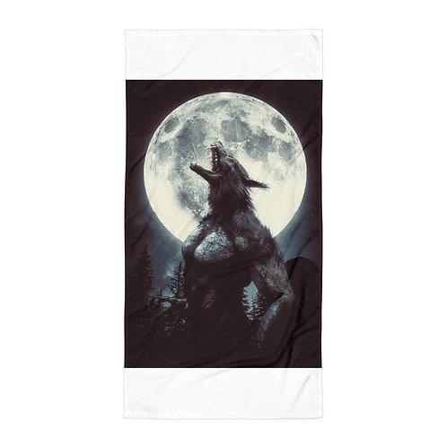 "Beach Towel ""The Werewolf"" by Hotamr"