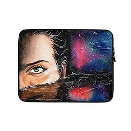 "Laptop sleeve ""Deep"" by Bikangarts"