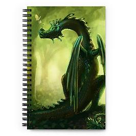 "Notebook ""Forest"" by Hymnodi"