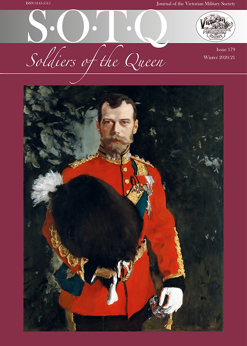 VMS SOTQ Journal Issue 179 Front Cover (