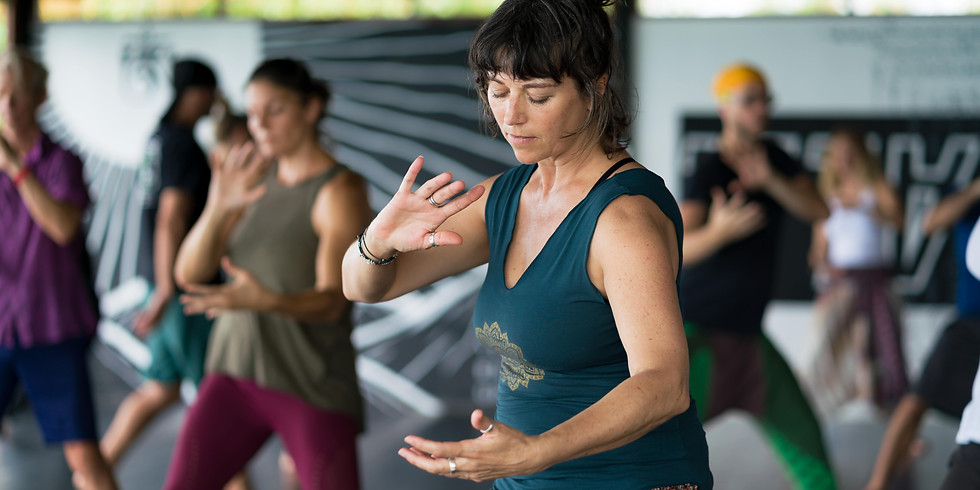 """""""Nourish Yourself!"""" with White Tiger Qigong"""
