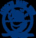Logo de l'association Mare Vivu : une baleine et la tour génoise de Pino