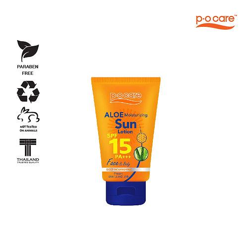 POCARE ALOE MOISTURIZING SUN LOTION SPF15 PA+++ 120ml