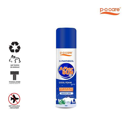 POCARE D-PANTHENOL AFTER SUN COOL FOAM SPRAY 90ml