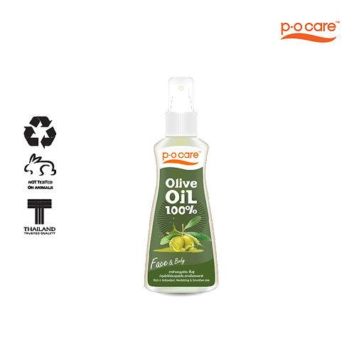 POCARE OLIVE OIL 100% (FACE & BODY) 165ml