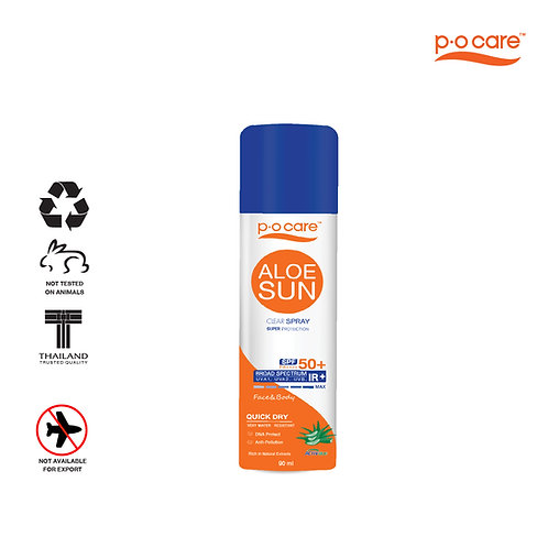 POCARE ALOE SUN CLEAR SPRAY SPF50+ PA++++ 90ml
