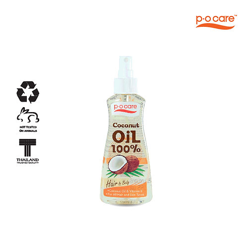 POCARE COCONUT OIL 100% (FOR HAIR & BODY) 165ml