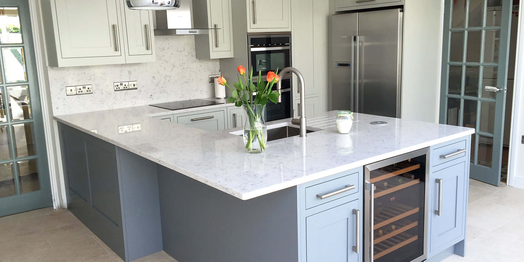 Shaker Painte Kitchen - Chigwell