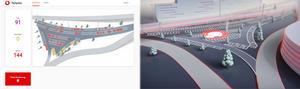 2D Dashboard & 3D Showcase