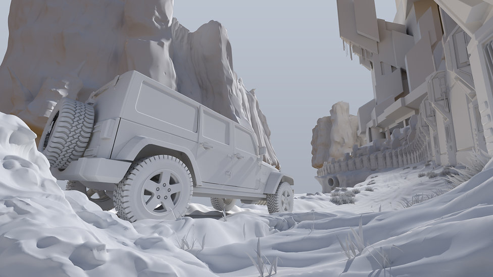 Car of the future 3D Modelling