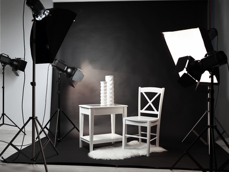Fotoshooting mit Produkten