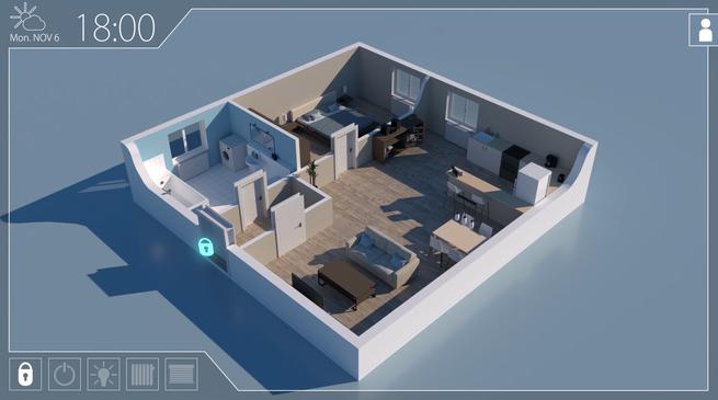 Smart Home & Grauer Star