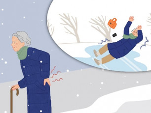 빙판길 '낙상'…노인 만큼 위험한 중장년 여성