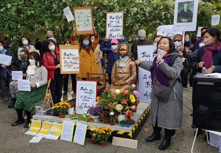 '독일 소녀상' 시민이 지켜냈다…베를린시 철거명령 전격 철회
