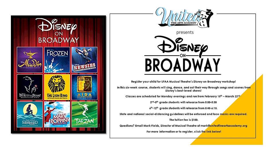 UFAA Disney on Broadway Workshop Flyer.j
