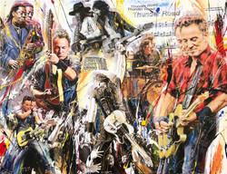 Bruce Springsteen 116x89