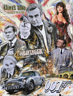James Bond is back in Action 116x80