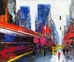 New York Couleurs 73x60