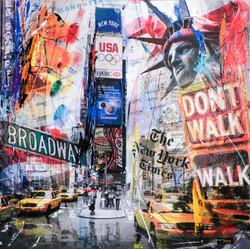 NEW YORK CITY WALK DONT WALK