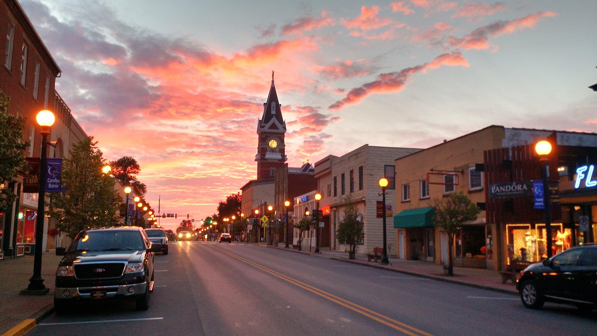 Clarion_main-street-sunset-2