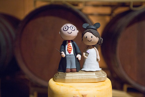 Cake Toppers (two characters)