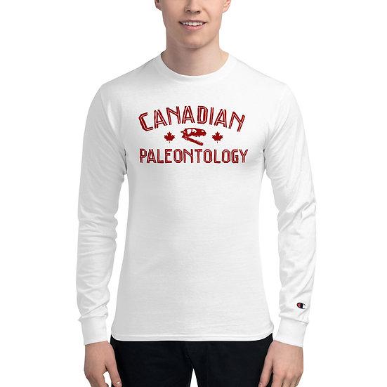 Edward Cope Canadian Paleontology Men's Champion Long Sleeve Shirt