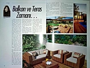 Balkon ve Teras Zamanı...
