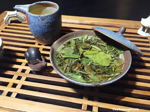 "Jingmai Sun-Dried ""Three Aroma"" Bai Mu Dan White Tea Spring 2018 by Yunnnan Sourcing"
