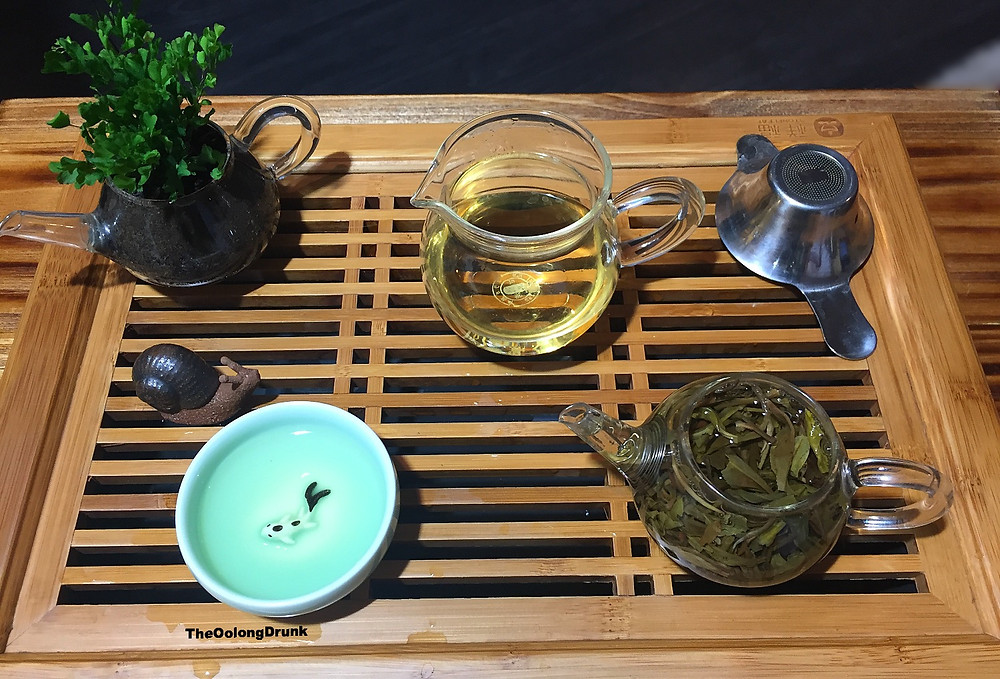 What a typical gong-fu session looks like - for me at least