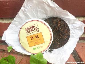 Yunnan Sourcing's 2017 Gong Ting Certified Organic Shou Puer
