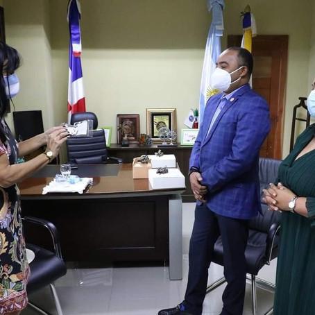 Embajadora de Argentina visita Verón-Punta Cana