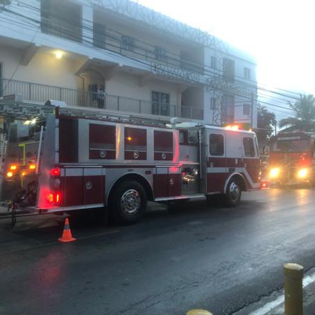 Fuga de gas cloro afecta ferretería en Verón-Punta Cana