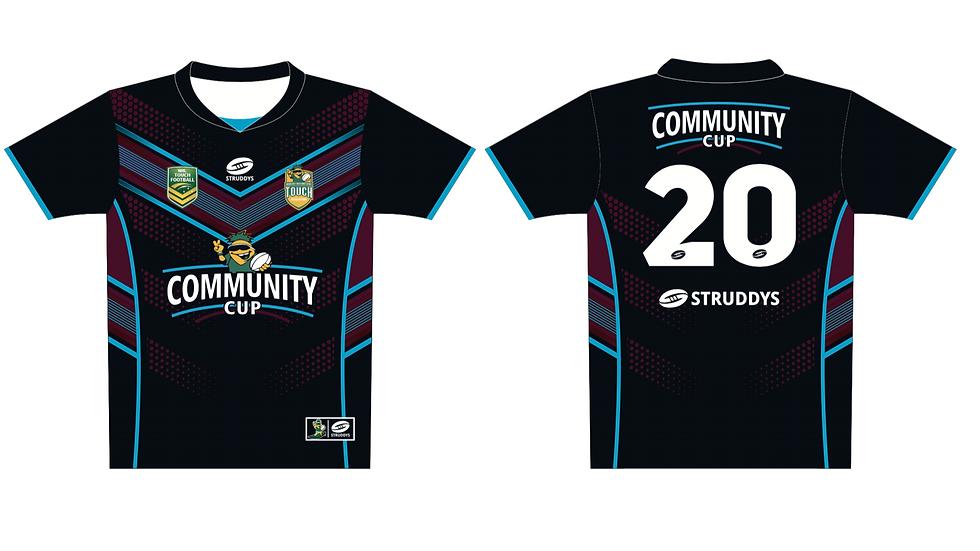 COMMUNITY CUP SHIRT BLACK