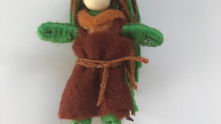 Handmade Worry Doll