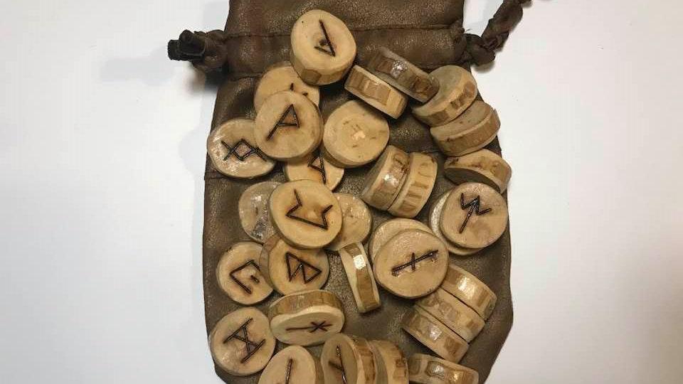 Anglo-Saxon Wood Runes