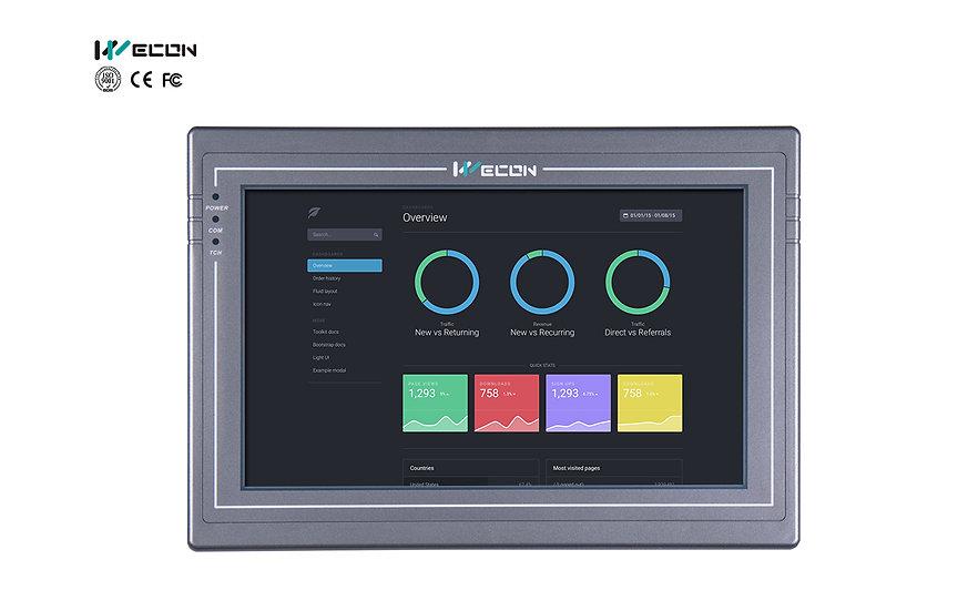 Wecon PI 10.2 inch HMI : PI8102-R