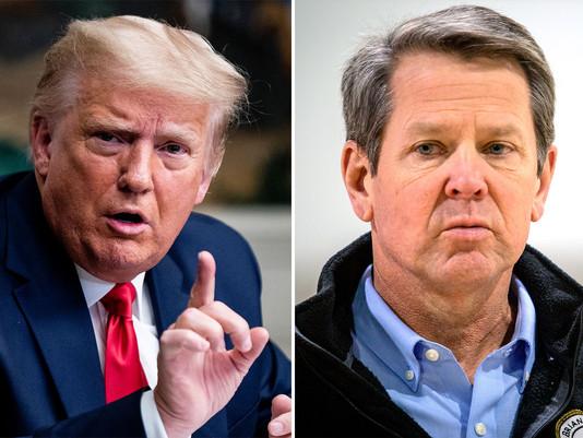 Trump SLAMS Gov. Kemp and Raffensperger For Terrible Job In Georgia