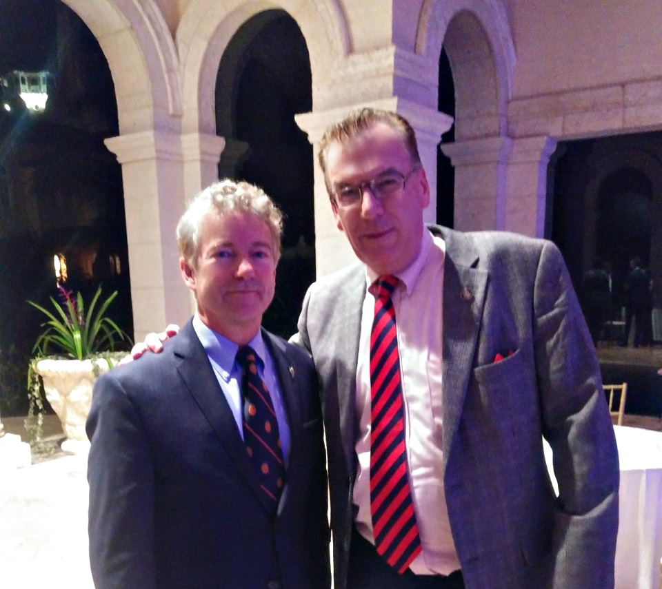 JJ Flash with Senator Rand Paul